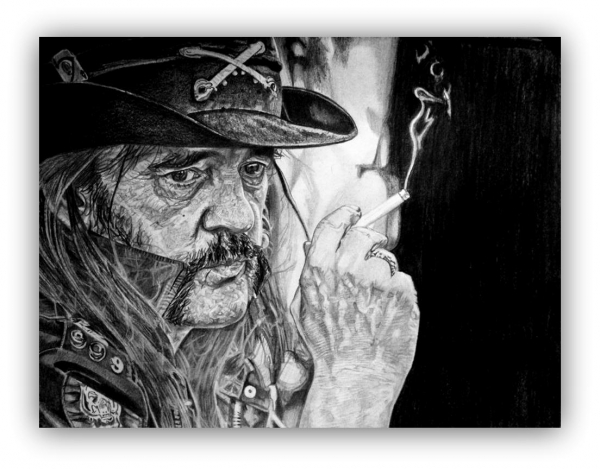 Lemmy Kilmister by docjohn